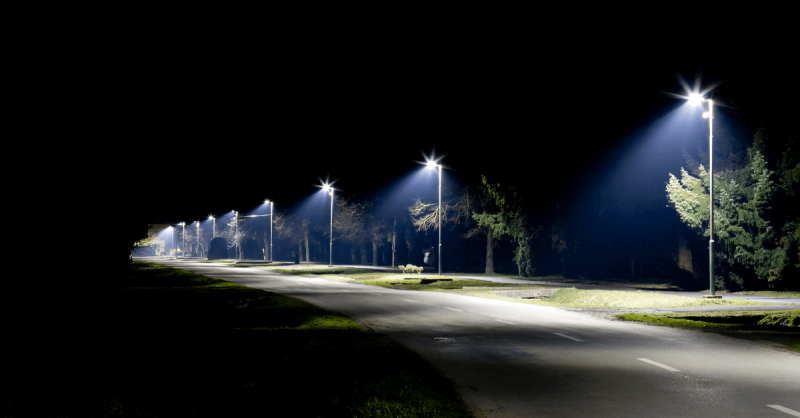 LED street light retrofit benefits
